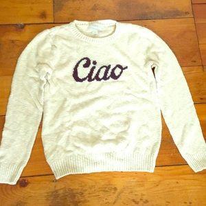Cream Petite Sweater